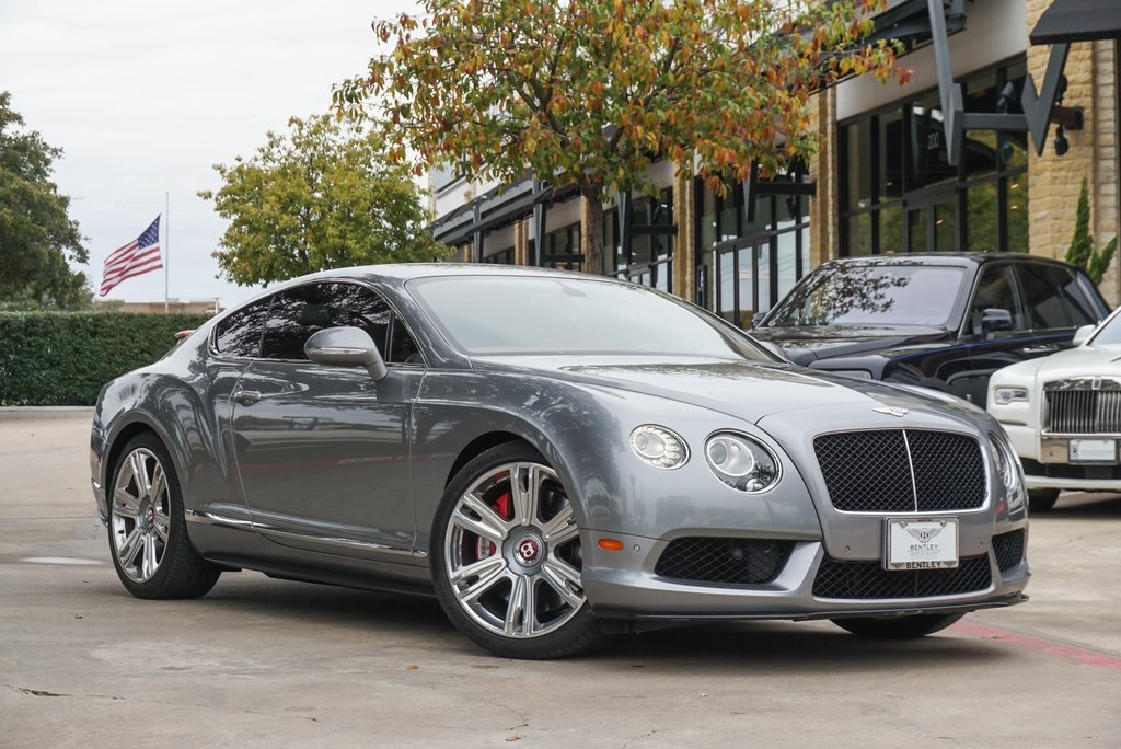 Certified Pre Owned 2015 Bentley Continental Gt V8 S 2d Coupe For