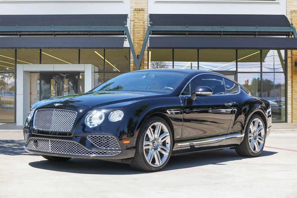 Certified Pre Owned 2016 Bentley Continental Gt W12