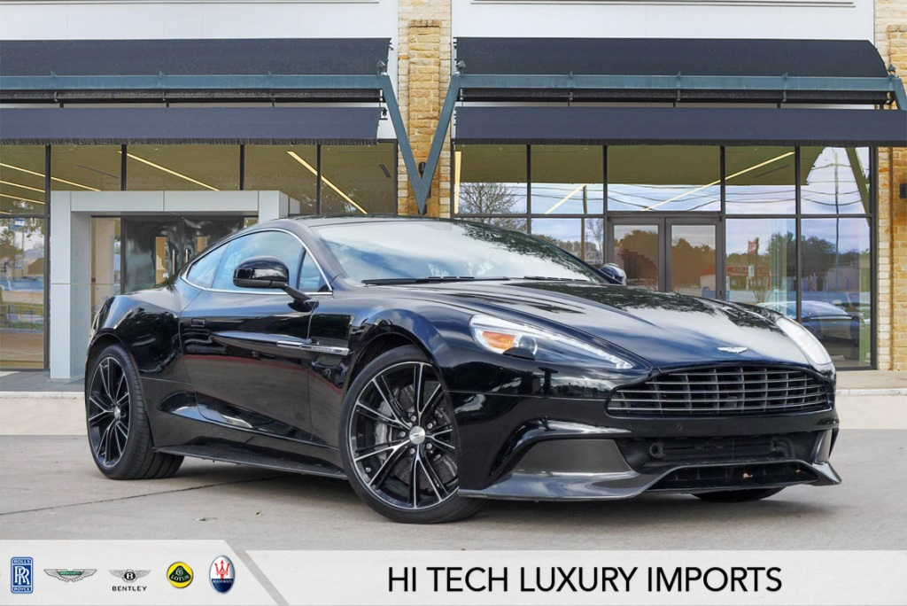 certified pre-owned 2016 aston martin vanquish v12 2d coupe for sale