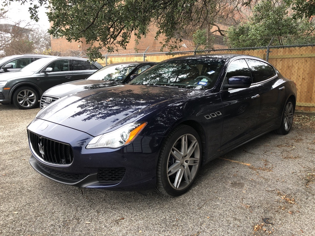 pre-owned 2016 maserati quattroporte s q4 4d sedan for sale #m8707a