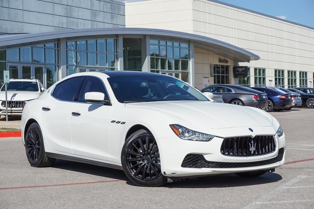 Pre-Owned 2016 Maserati Ghibli Base