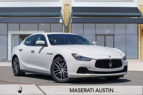 Certified Pre-Owned 2016 Maserati Ghibli